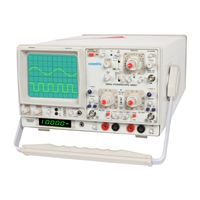 30 MHz Analog Power Scope with Frequency Counter