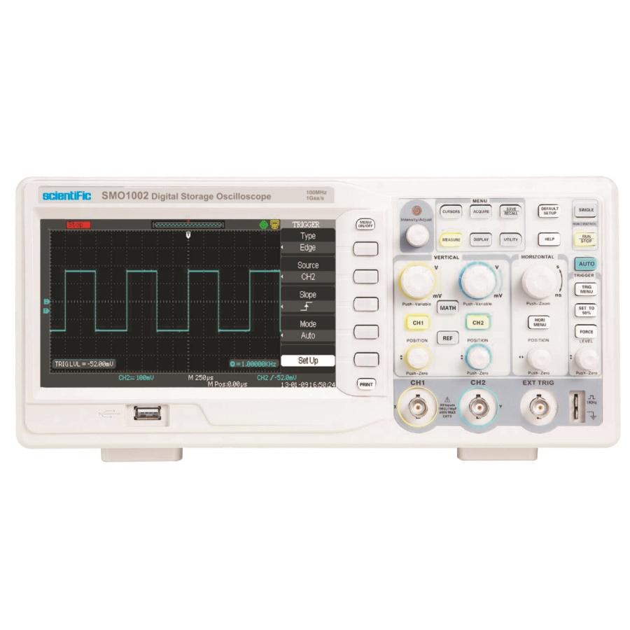 Oscilloscope Pulse Measurement : Mhz digital storage oscilloscope