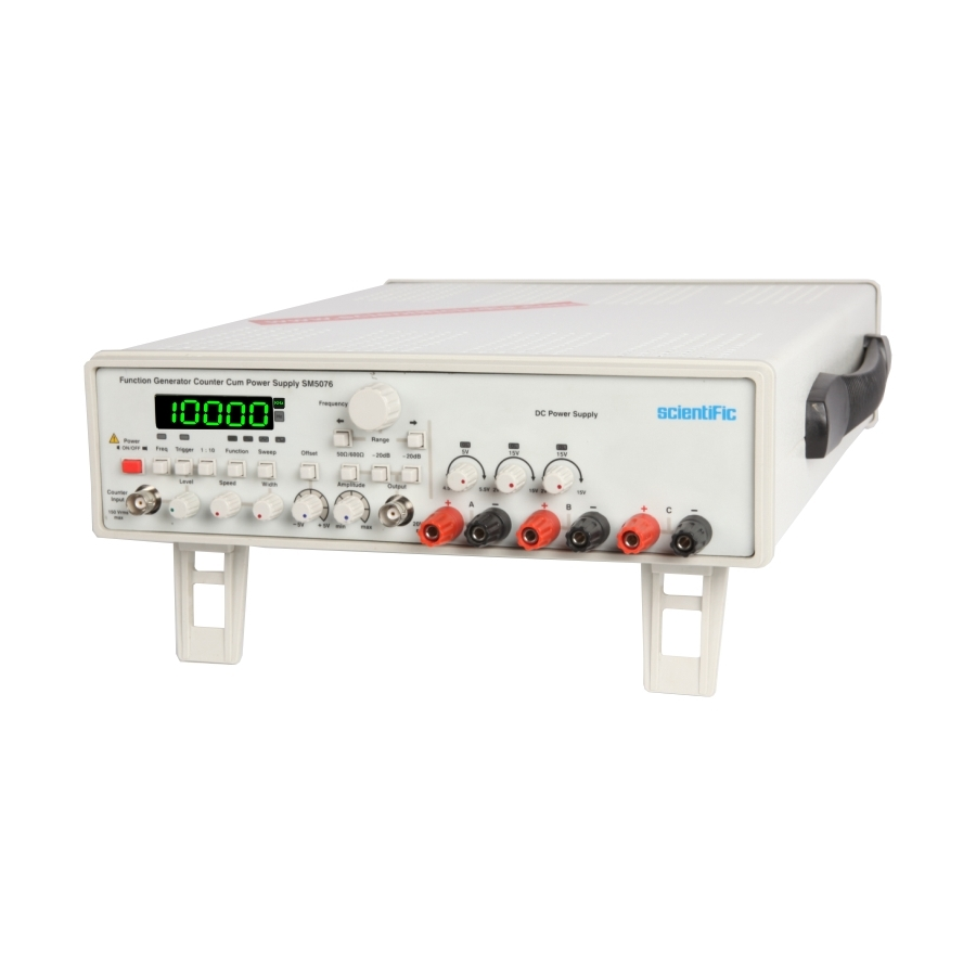 3 Mhz Function Generators Counter With Power Supply