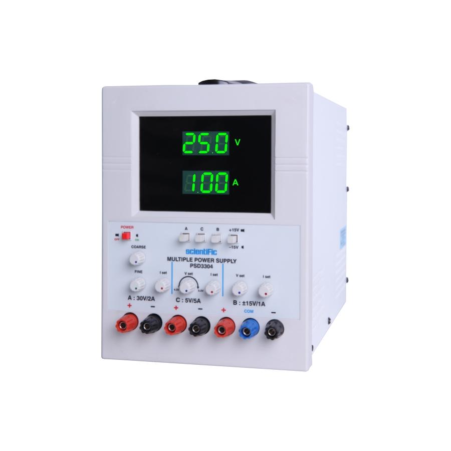 Psd3304 30v 2a 0 To 15v 1a 5v 5a Multiple Power Supply Dual Voltage Supplies