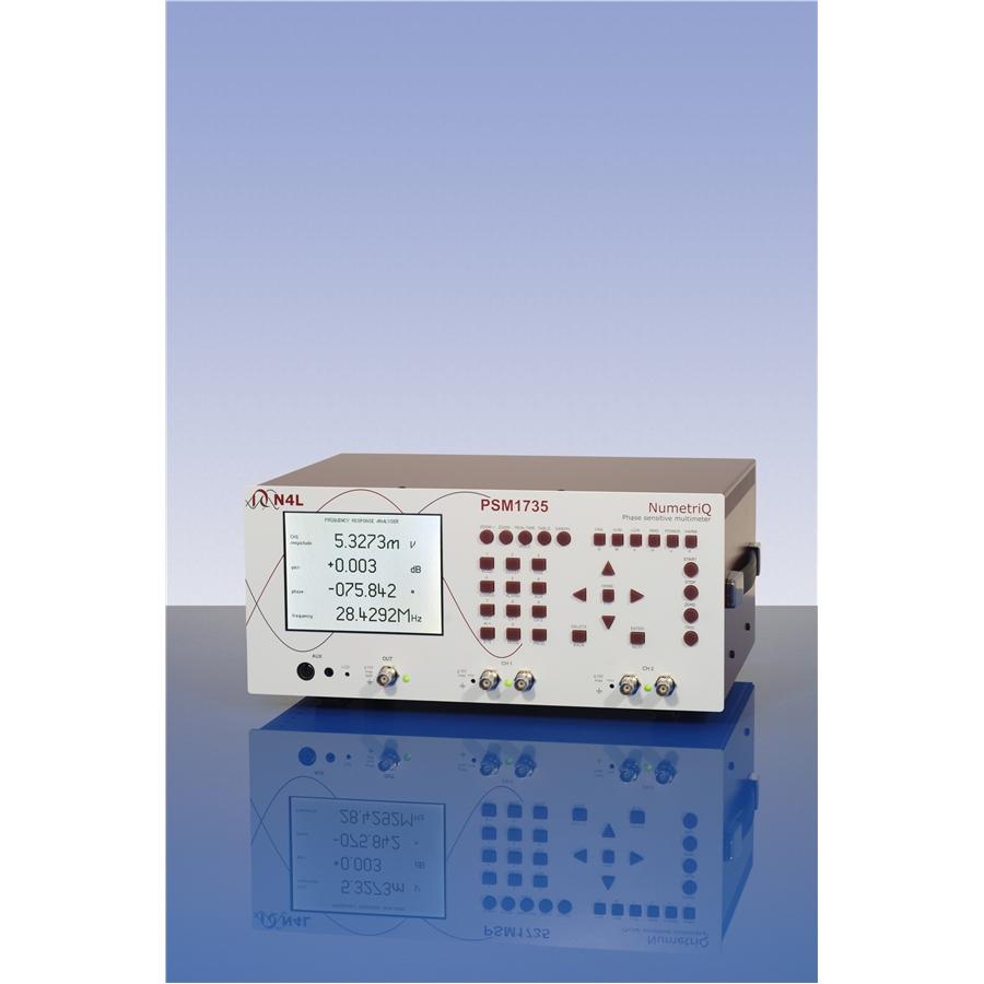 Frequency Response Analyzer : Mhz frequency response analyzer