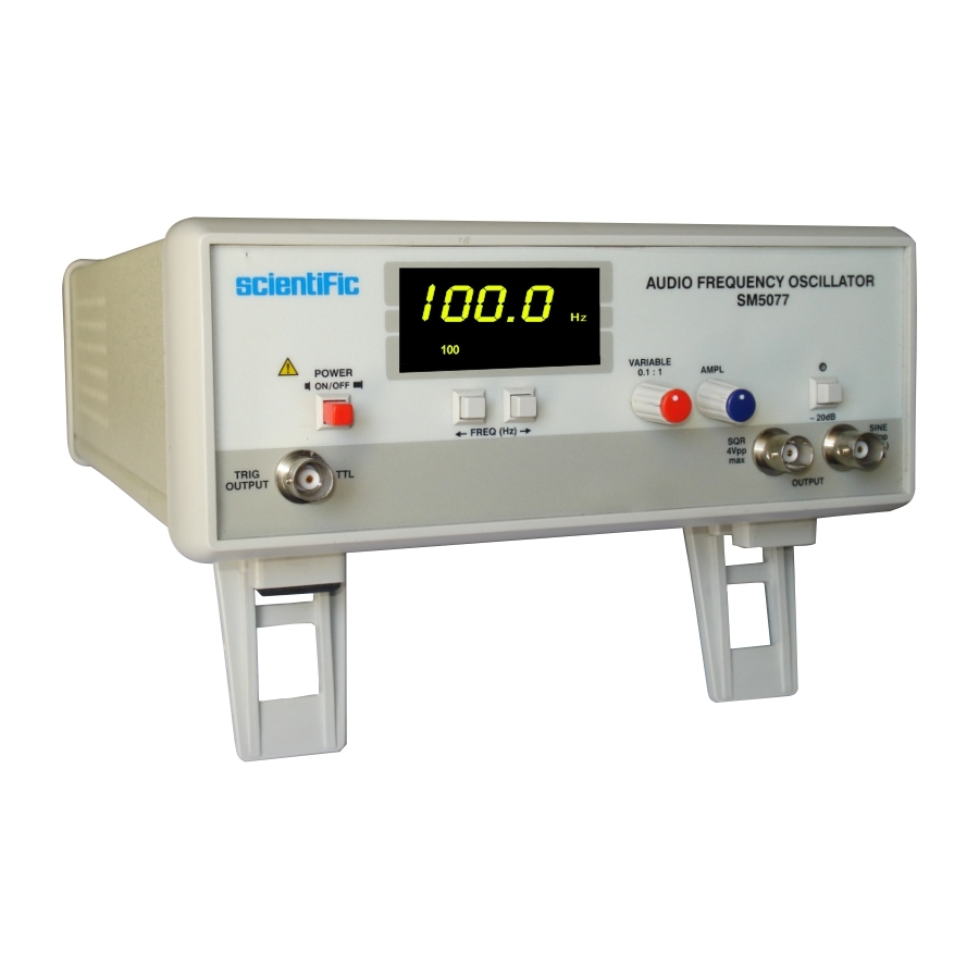 Frequency Measuring Tools : Sm audio frequency oscillator other instruments