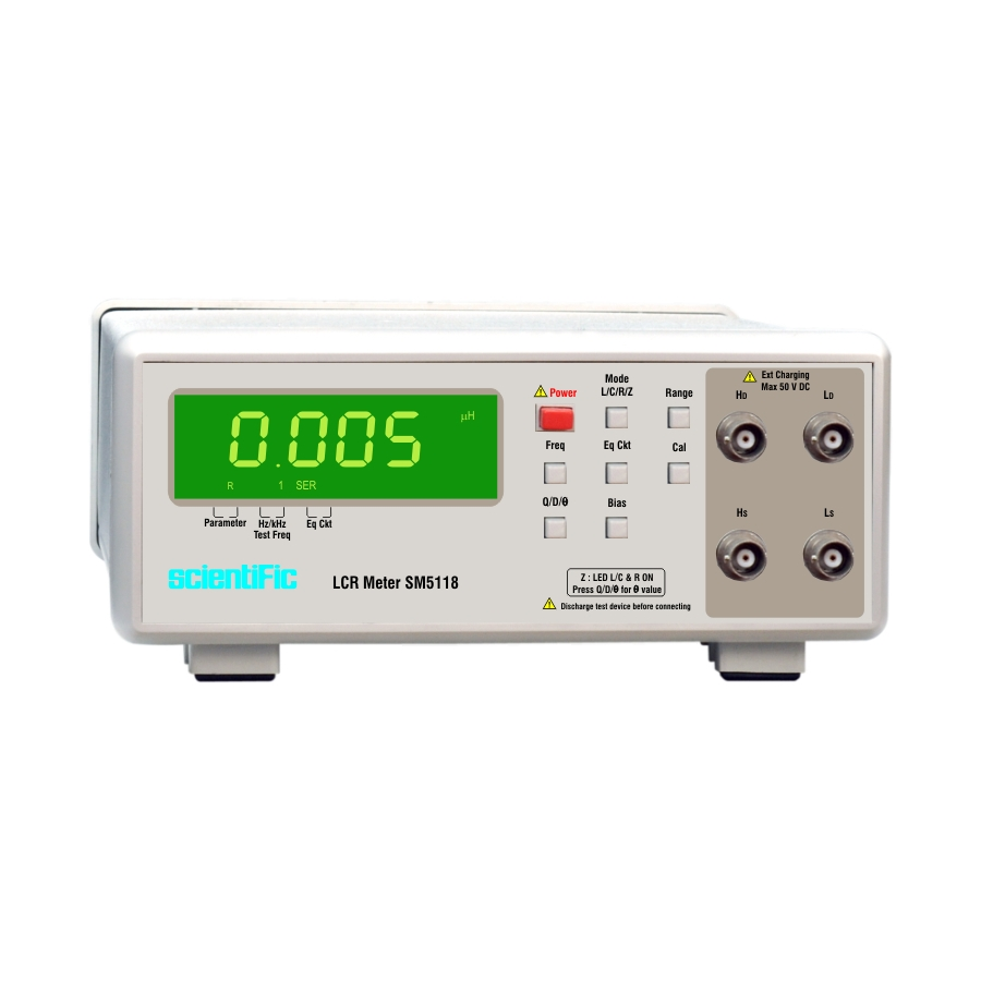 Sm5118 Lcr Meter Bench Top Inductance Circuit And Meters